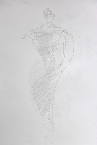 Process illustration 1: Line Drawing