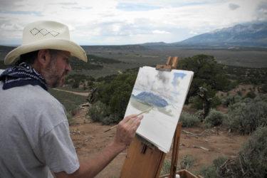 Eph Painting Mt. Blanca