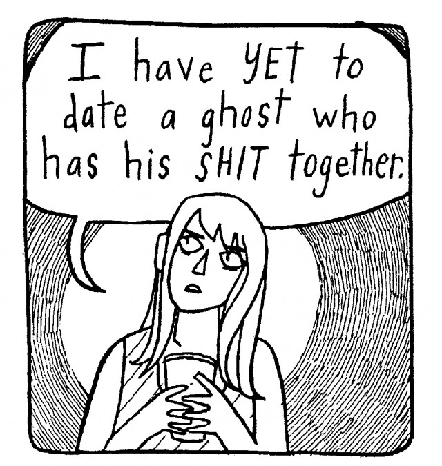The Girl Who Was Mostly Attracted to Ghosts (2013)