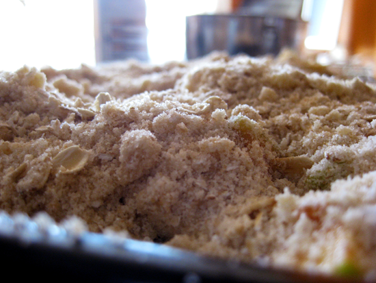 sometimes, friends are made out of flour and oats