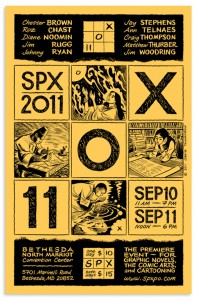 SPX flyer by Craig Thompson