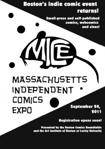 MICE flyer by Jason Viola